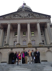 Mentored Scholarship recipients outside of the Kentucky state capitol