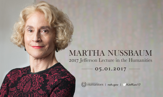 Martha Nussbaum - 2017 Jefferson Lecture in the Humanities, 05.01.2017